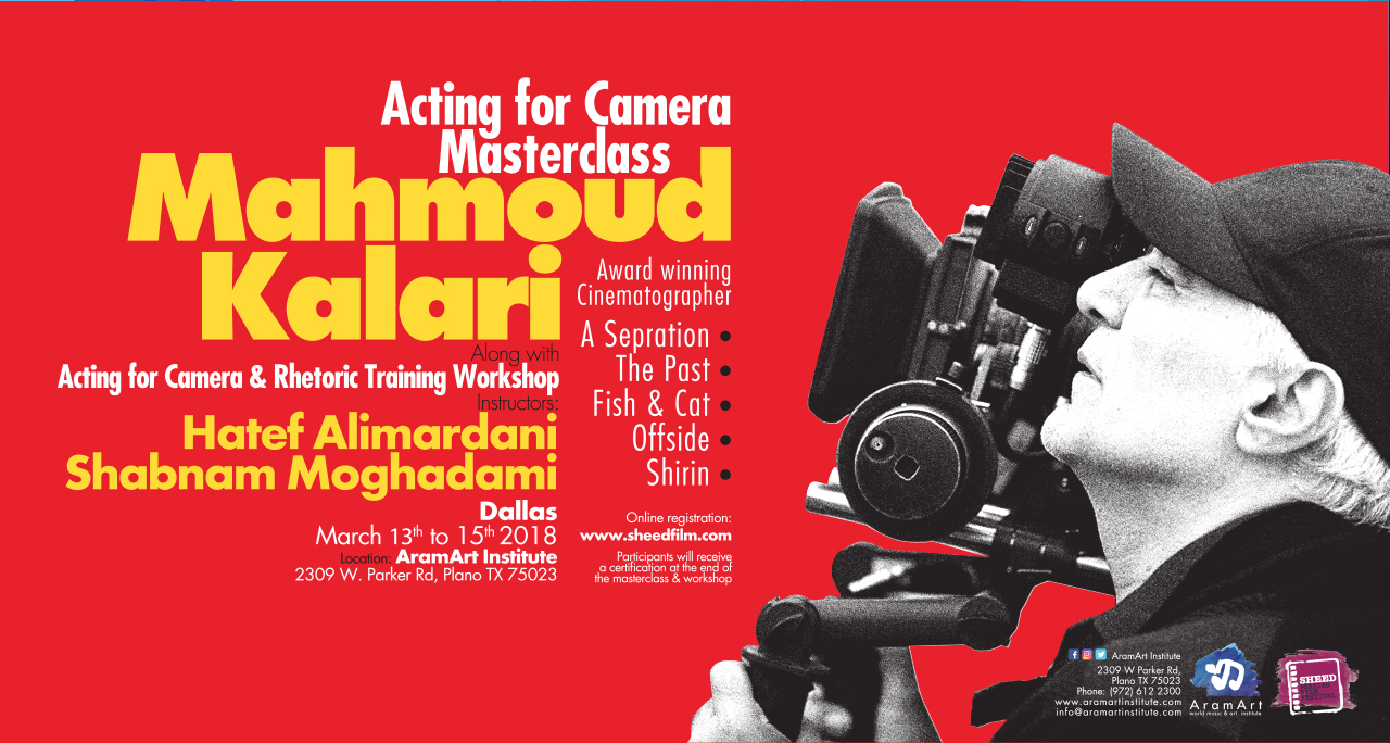 Cinematography Masterclass Event Header-Dallas